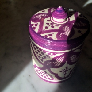 Moroccan Salt Jar